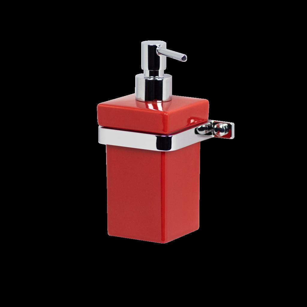 soap dispenser red mirella tanzi