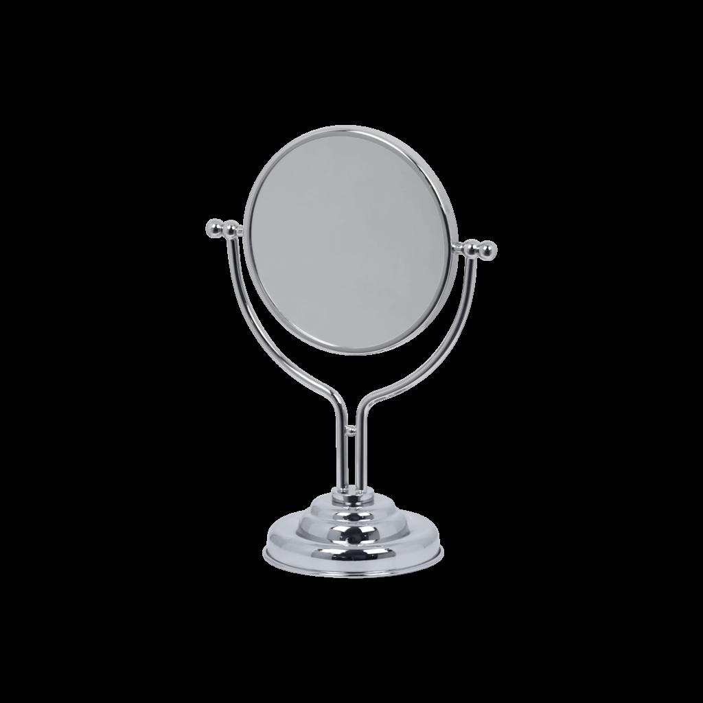 Specchio ingranditore cromo