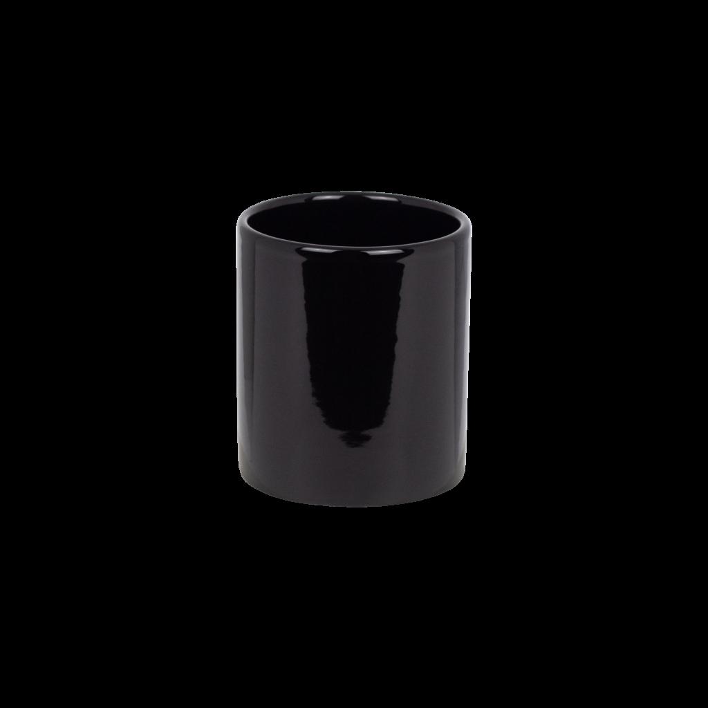 portaspazzolini in ceramica nera