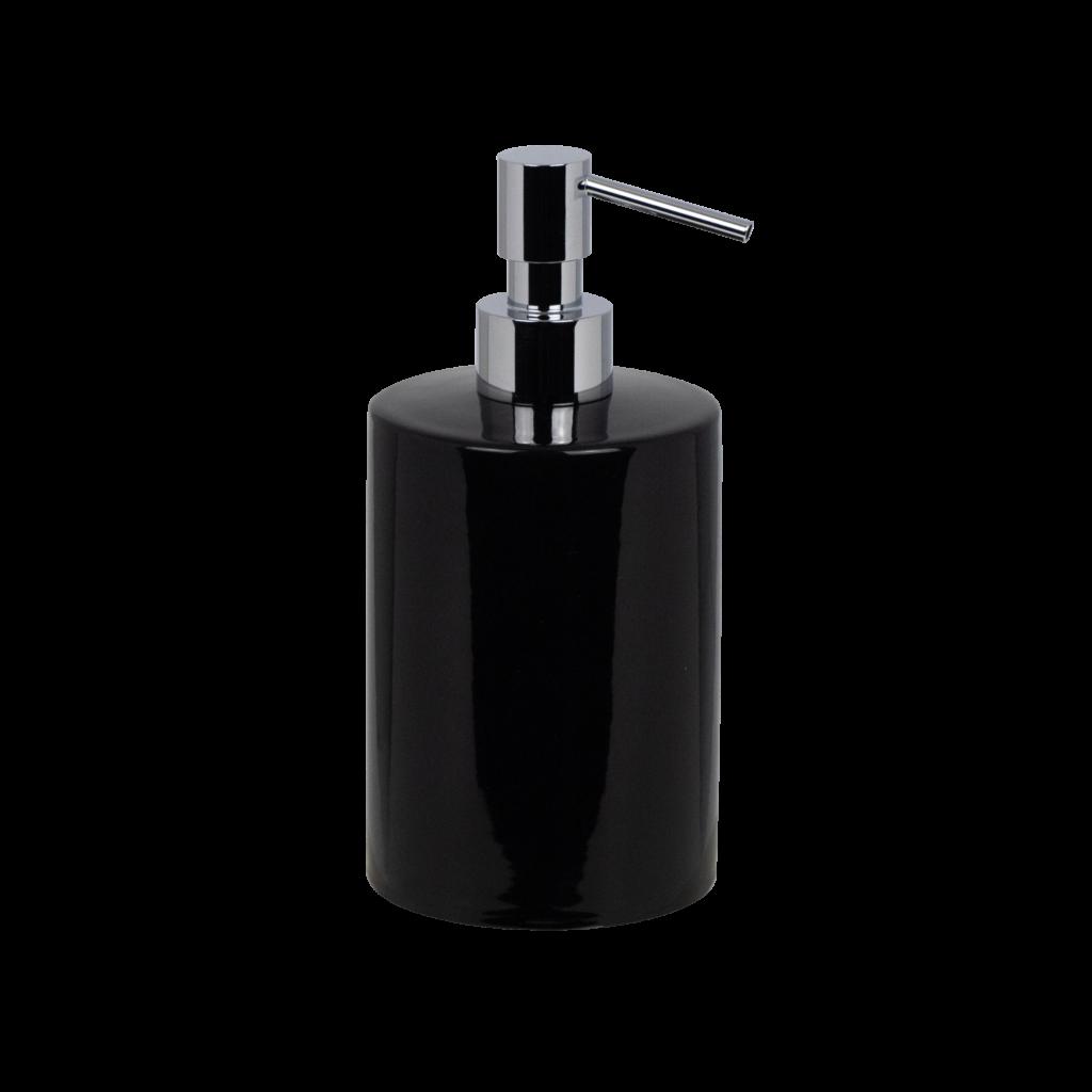 dispenser in ceramica nera