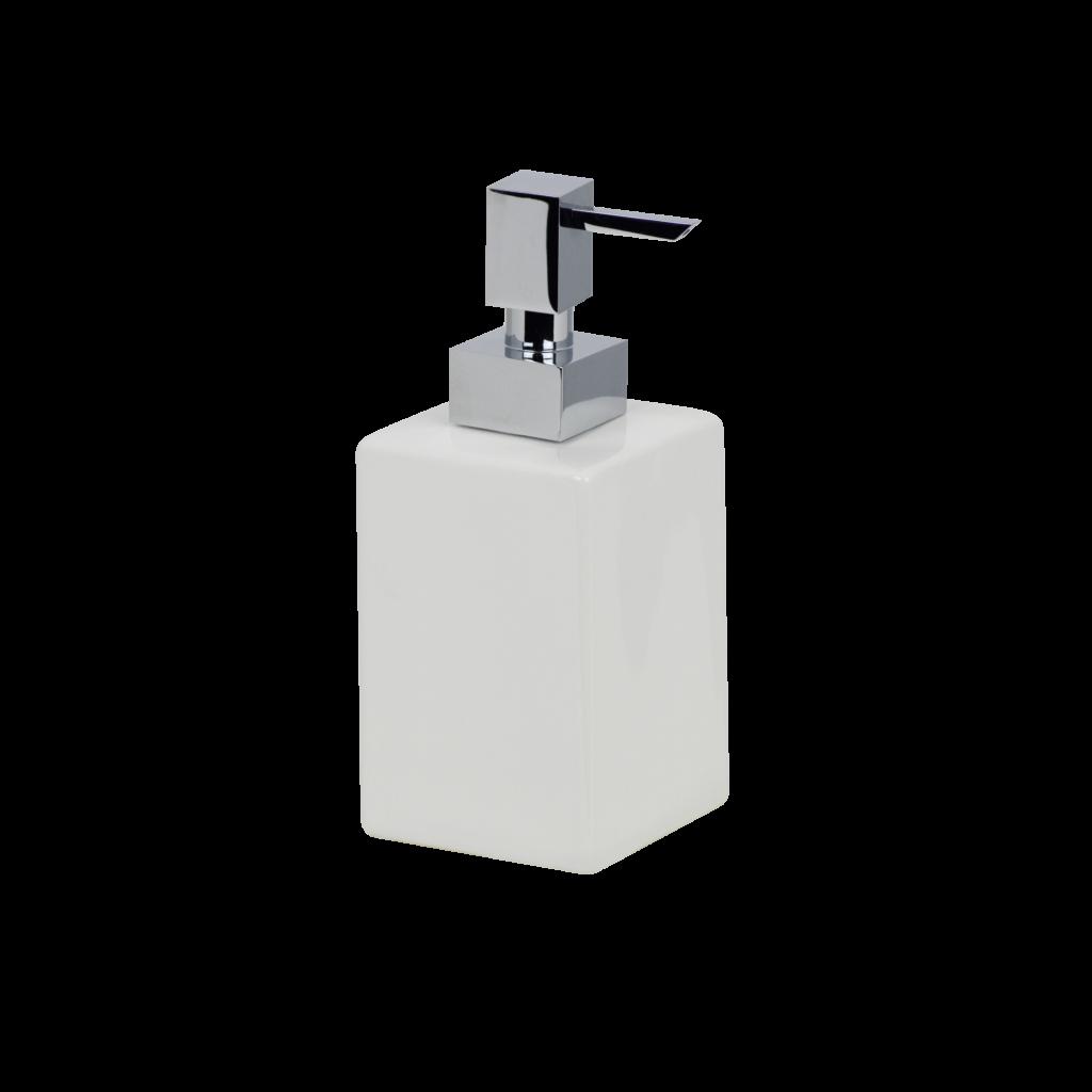 dosatore sapone liquido bianco mirella tanzi