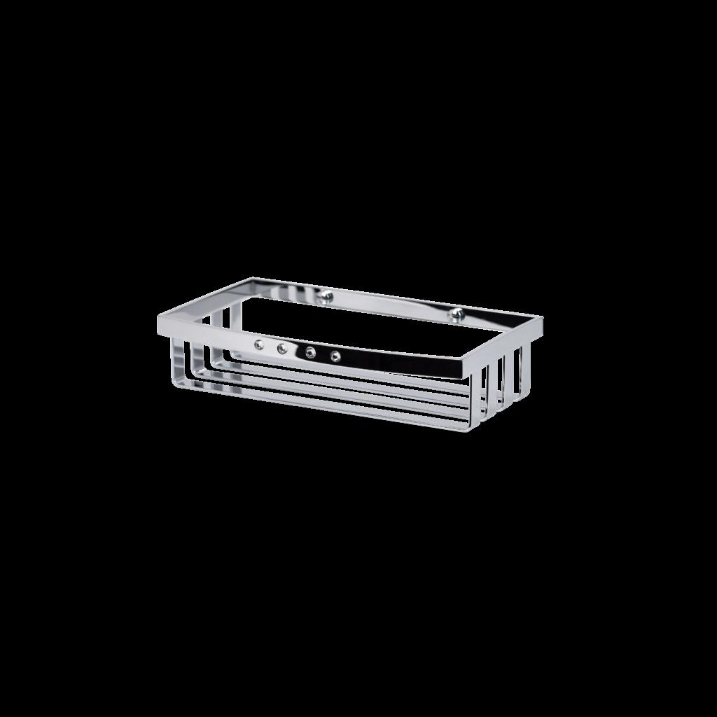 griglia porta spugna in cromo con cristalli swarovski di mirella tanzi