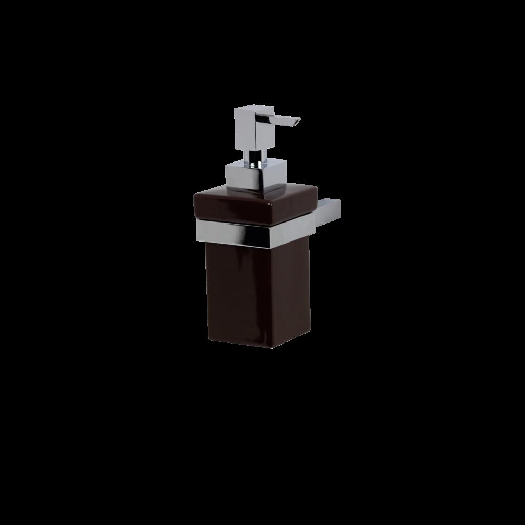 dosatore sapone in ceramica kubic mirella tanzi