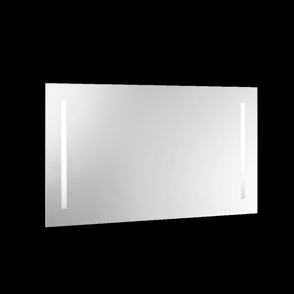 S5580 Specchio con fasce verticali satinate e illuminazione led