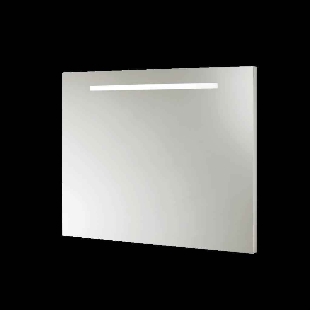S5740 Specchio con telaio e fascia satinata con illuminazione led